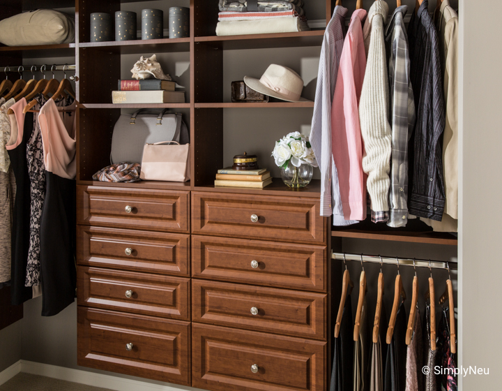 How To Create More Space In A Small Closet Neuspace
